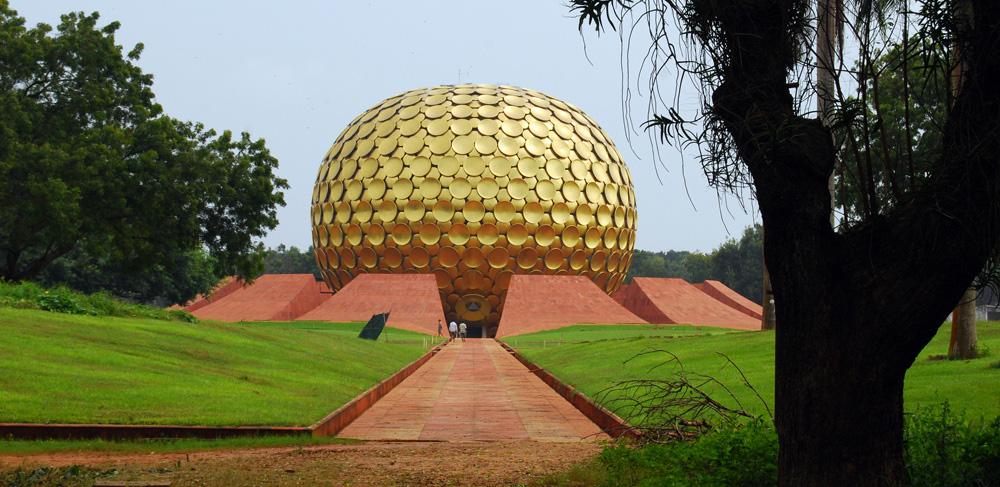 Matri-mandir-Auroville-pondicherry