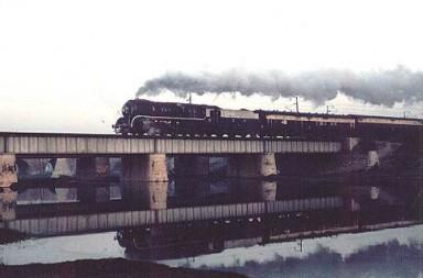 The allure of steam engine - Taj Express