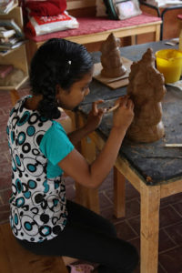 Eco friendly ganapati - Clay Station