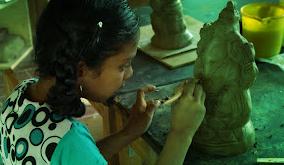 Eco friendly ganapati - Clay Station