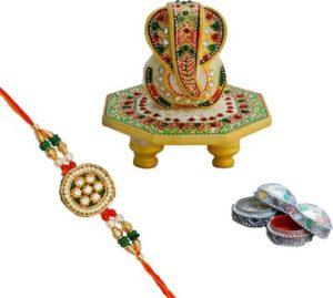Eco-friendly-Ganesh-decoration