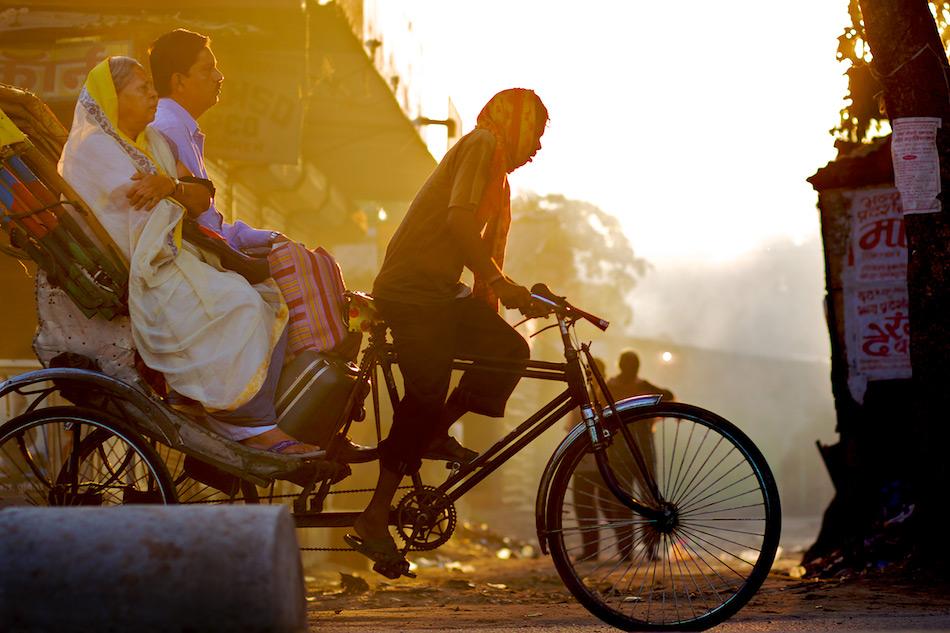 Nai Dilli culture - rickshaw pullers