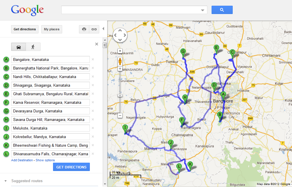 Offbeat_travel_Bangalore-Map