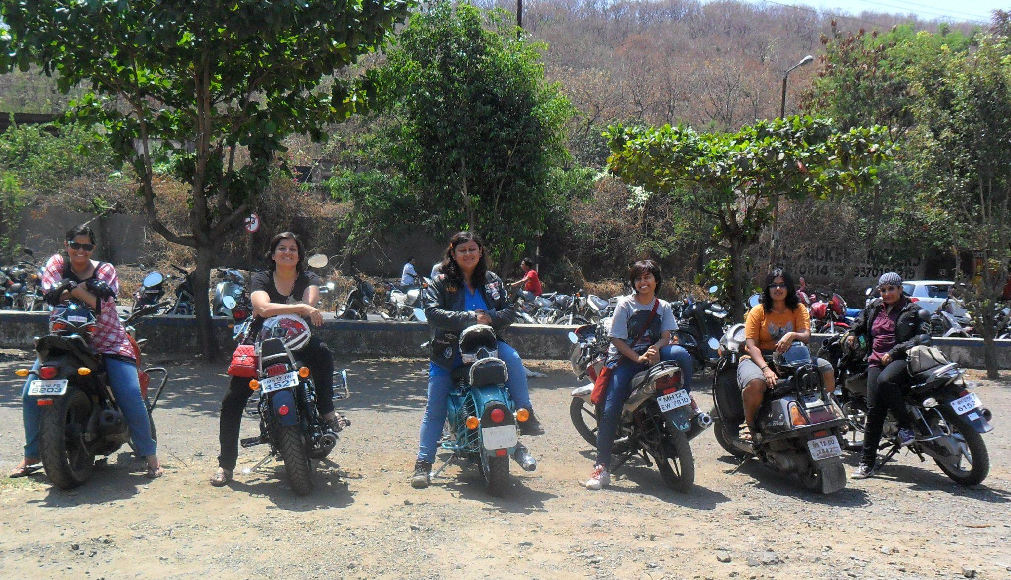Biker chicks India