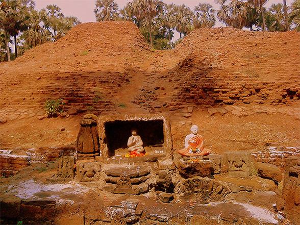 Arnala beach - Arnala-Sopara-Buddha-Stupa-A-National-Monument