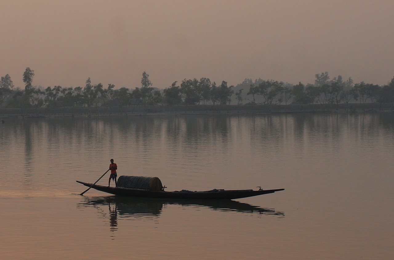 Boatman-Sundarbans