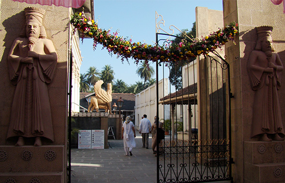 Udvada Parsi fire temple