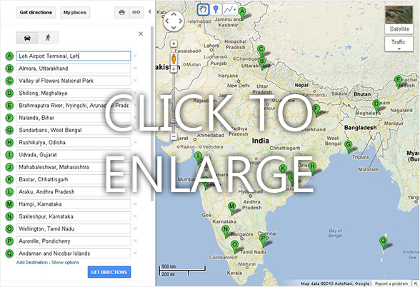 customized Google map