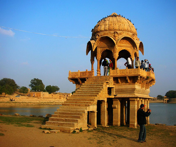 Jaisalmer pond