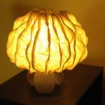 Eco-friendly Ideas - Banana fibre lamp by Jenny Pinto