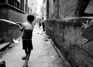 Gully Cricket by Proshanto Mahato