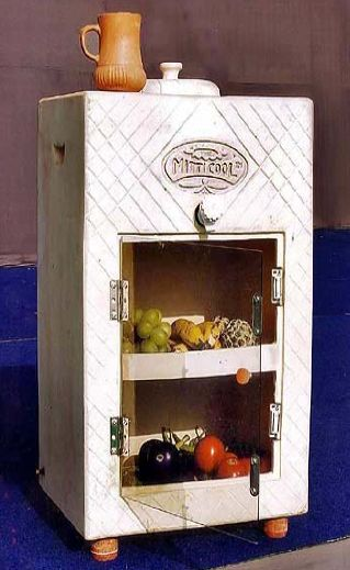 Eco-friendly Ideas India - Mansukhlal's Mitticool refrigerator