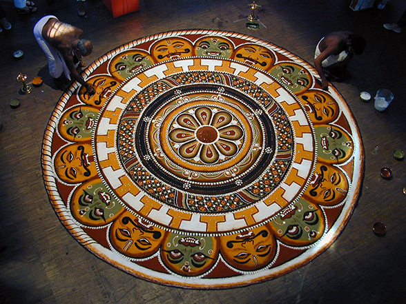 Rangoli A Riot Of Colours