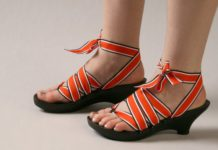 Stylish Eco-friendly Sandals by Mohop | Source: Saturday Persimmon
