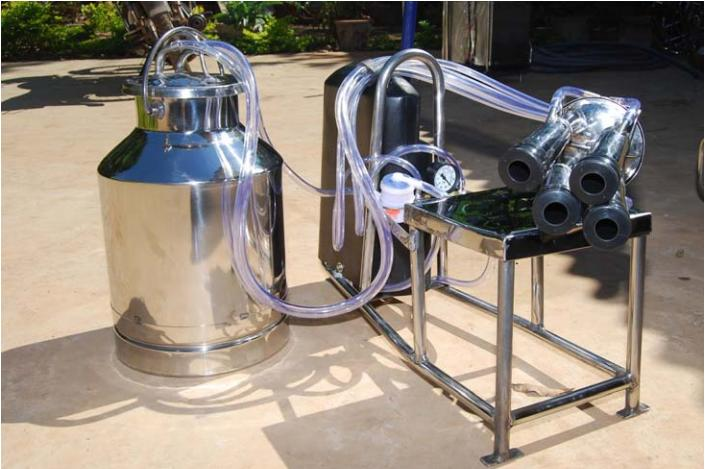 Eco-friendly Ideas from India - Raghava Gowda's Milking Machine