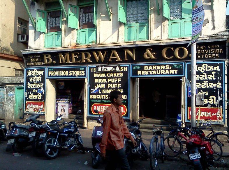 Mumbai street food - Mumbai Irani Chai B Merwan & Co