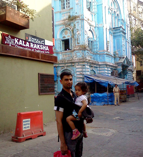 Mumbai street food - Mumbai My family at Kalaraksha