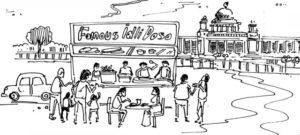 Can't miss the idlis, vadas, dosas & coffees