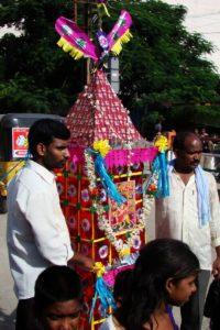 Telangana wins - Bonalu festival in Telangana