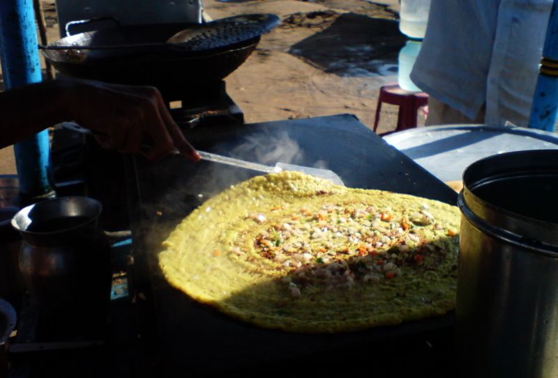 Telangana wins - Pesarattu - the unique dosa of Andhra