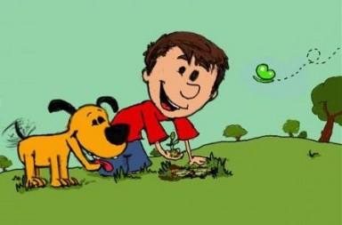 Tweego and Fangchu plant a sapling