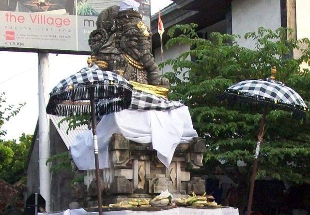 Bali - Ganeshji Statue in Sanur Area