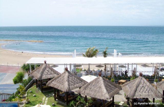Bali - A view of Kuta beach