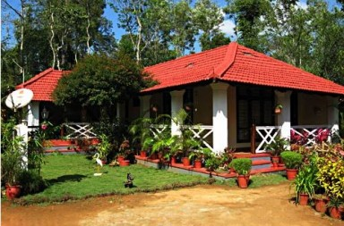 Homestay cottage built in British bungalow style