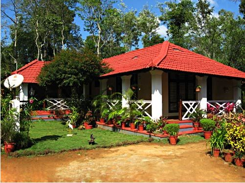 Homestays at Coorg - built in British bungalow style