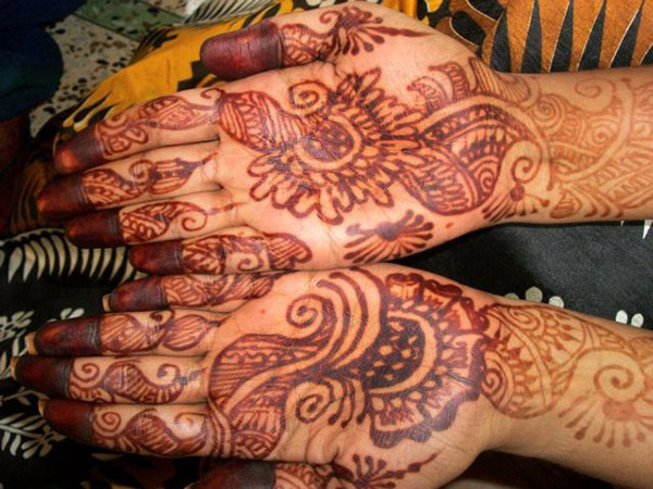 Mehndi (Henna tattoo)
