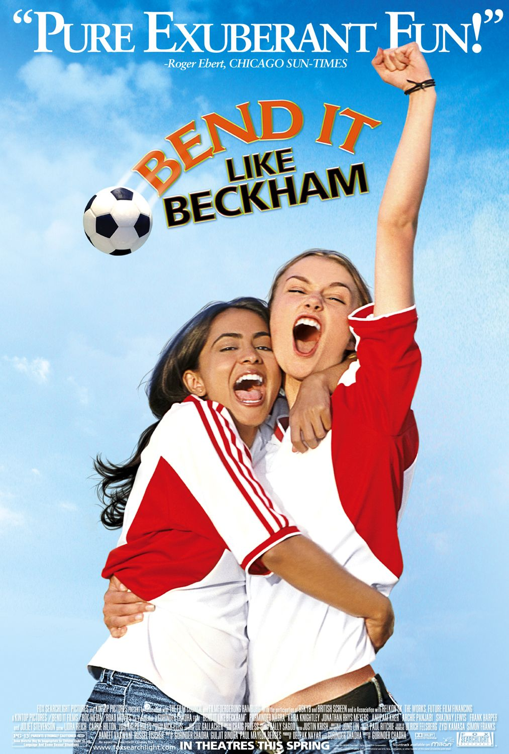 bend it like beckham as you like A kaleidoscope of color and culture clash humorously as an indian family in london tries to raise their soccer-playing daughter in a traditional way unlike.