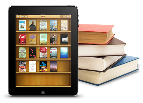 Shelf display in e-book readers | WinePress Publishing