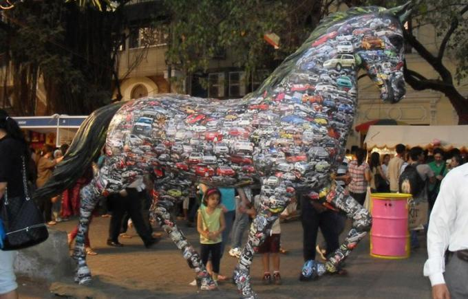 Cultural festivals of India fest-kala-ghoda