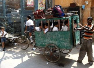Delhi-school-children