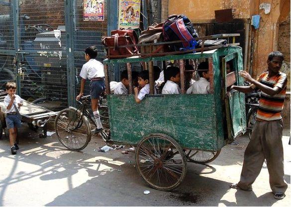 Delhi-school-children   Celeste Goulding
