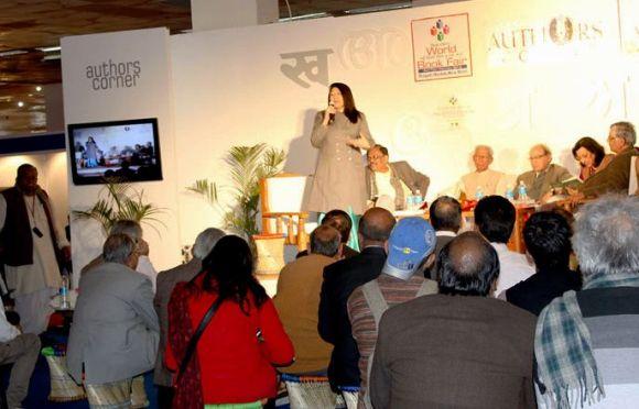 Author's talk at Delhi Book Fair