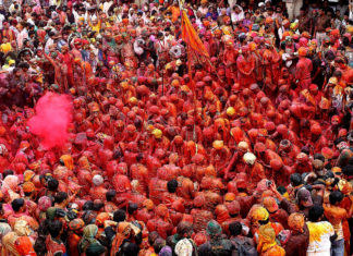 Barsana-Lath-mar-Holi
