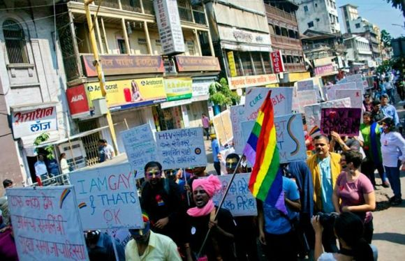 Gay Pride in Pune | Golnaz Malek