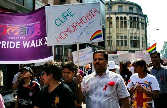 Gay Pride in Pune   Golnaz Malek