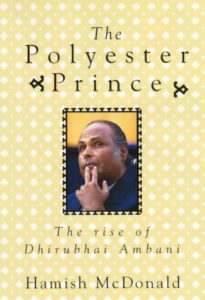 banned books in india - Polyester Prince-The Rise of Dhirubhai Ambani