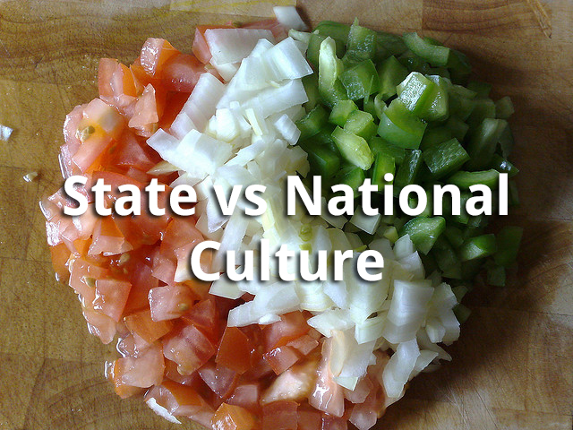Indian culture | state Vs national culture