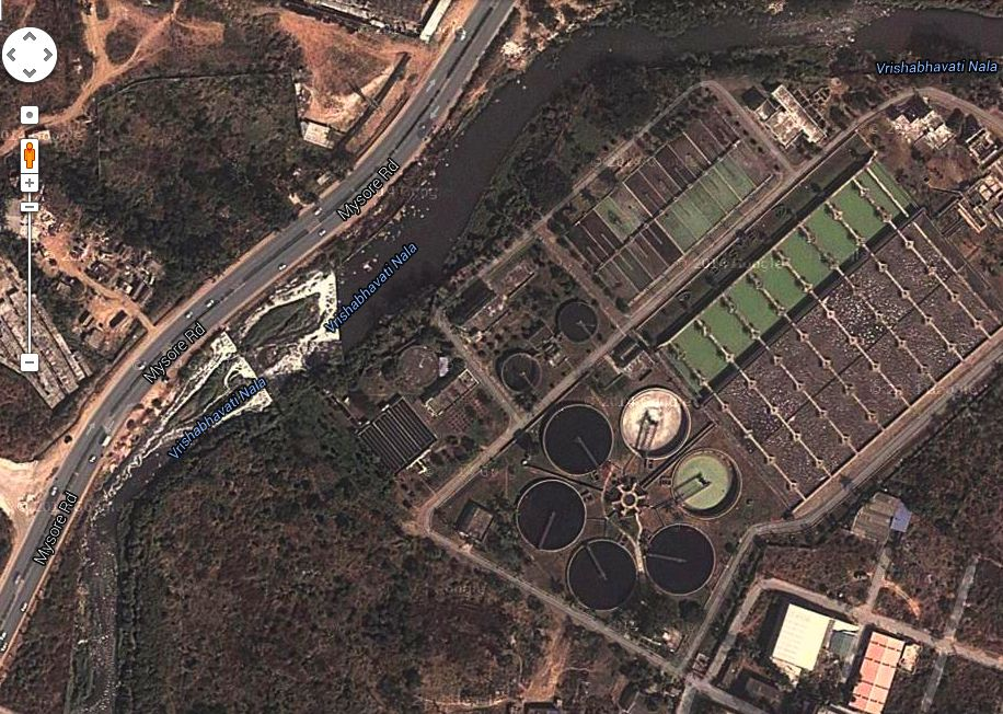 BWSSB sewage treatment plants