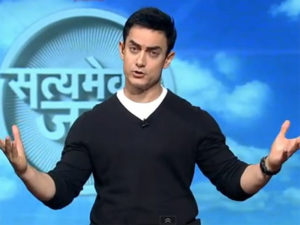 Indian celebrities supporting social causes : Aamir Khan-Satyamev Jayate