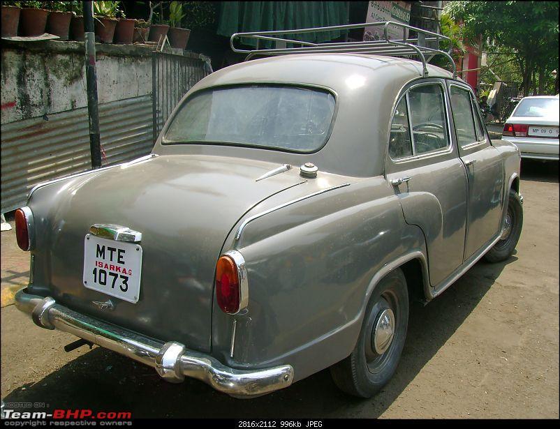 Indian Brands - Ambassador car mark II | Team BHP