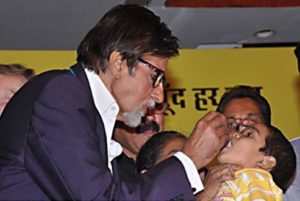 socially concerned celebrities : Amitabh Bachchan-Pulse_Polio