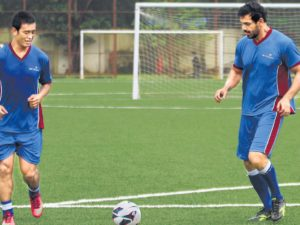 socially concerned celebrities : John Abraham-Football