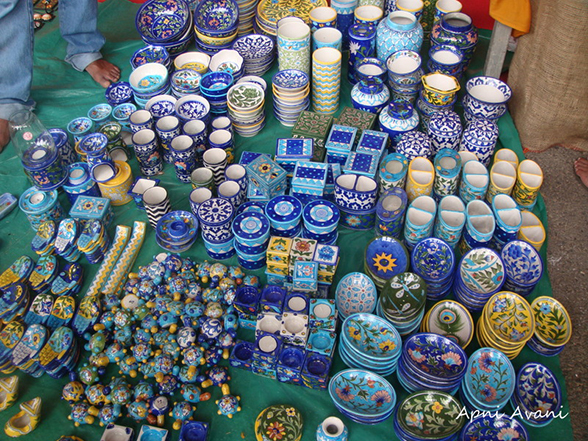 GI Tag - Jaipur blue pottery