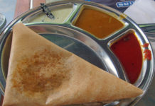 Delhi University Food -Mutton-Dosa