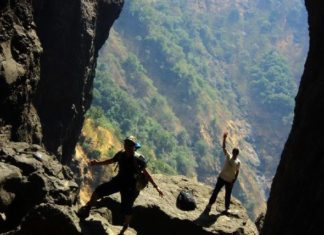 Offbeat travel destinations in Andhra Pradesh - GHAC Sandhan Trek