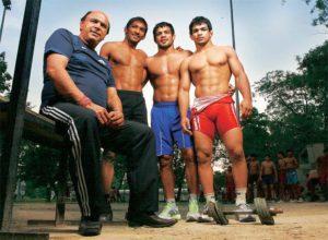 Regional Sports - Sushil Kumar & Haryanvi wrestlers | Courtesy: HT Media